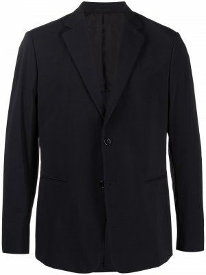 Однобортный пиджак Theory. Цвет: черный