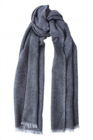Кашемировый шарф Bruuns Bazaar. Цвет: серый