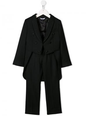 Костюм-тройка Dolce & Gabbana Kids. Цвет: черный