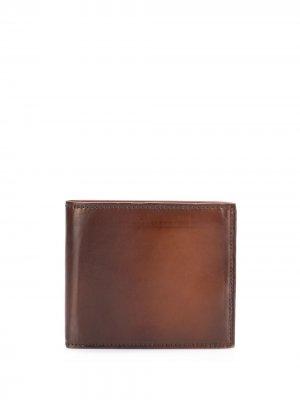 Бумажник Boudin 1 Officine Creative. Цвет: коричневый