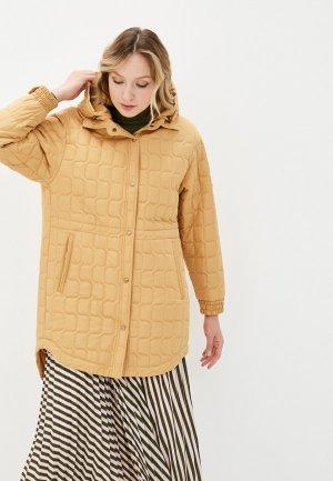 Куртка утепленная Dimma. Цвет: желтый