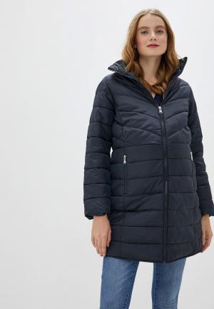 Куртка утепленная Dorothy Perkins Maternity. Цвет: синий