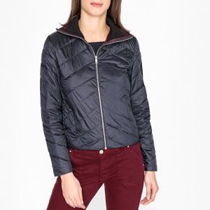 Куртка стеганая тонкая IKKS. Цвет: темно-синий