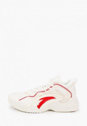Кроссовки Anta Basketball. Цвет: белый