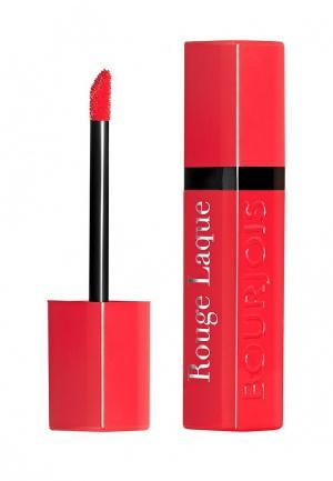 Помада Bourjois Rouge Laque, 1 Majes Pink, 6 мл. Цвет: красный