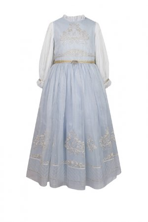 Платье Lesy. Цвет: bluegold