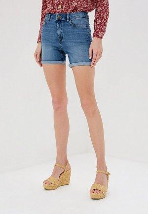 Шорты джинсовые Marks & Spencer MS. Цвет: синий