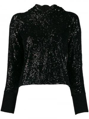 Пуловер Costa Pinko. Цвет: черный
