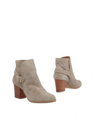 Полусапоги и высокие ботинки J|D JULIE DEE. Цвет: голубиный серый