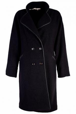 Пальто Alter Ego. Цвет: черный