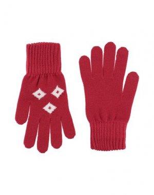 Перчатки DOLCE & GABBANA. Цвет: красный