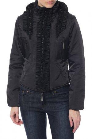Куртка Roccobarocco. Цвет: черный