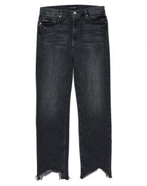 Джинсовые брюки BLACK ORCHID. Цвет: стальной серый