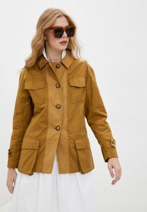 Куртка By Malene Birger. Цвет: коричневый