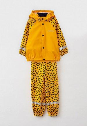Костюм от дождя Didriksons SLASKEMAN PR. Цвет: желтый