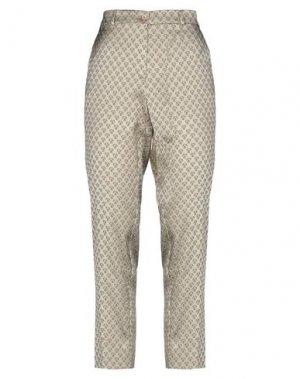 Повседневные брюки ETRO. Цвет: бежевый