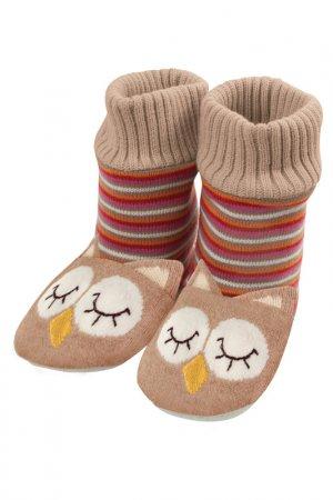 Тапочки-носочки вязаные Aroma Home. Цвет: мультицвет
