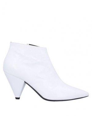 Полусапоги и высокие ботинки GIAMPAOLO VIOZZI. Цвет: белый