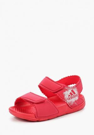 Сандалии adidas AltaSwim g I. Цвет: розовый