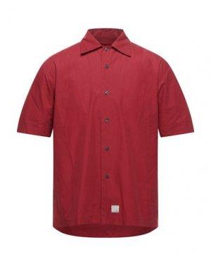 Pубашка FIRETRAP. Цвет: кирпично-красный