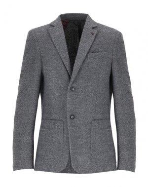 Пиджак MASSIMO REBECCHI. Цвет: свинцово-серый