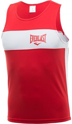 Майка для бокса Elite, размер 46-48 Everlast. Цвет: красный