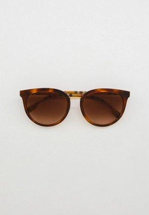 Очки солнцезащитные Burberry BE4316 389013. Цвет: коричневый