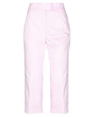 Брюки-капри DONDUP. Цвет: розовый