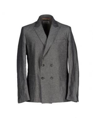 Пиджак L(!)W BRAND. Цвет: свинцово-серый