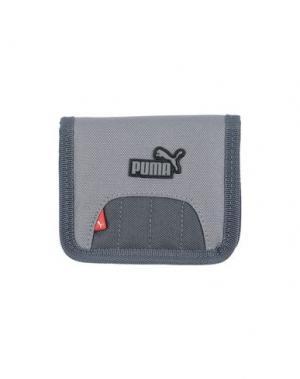 Бумажник PUMA. Цвет: серый