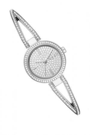 Часы наручные DKNY. Цвет: стальной