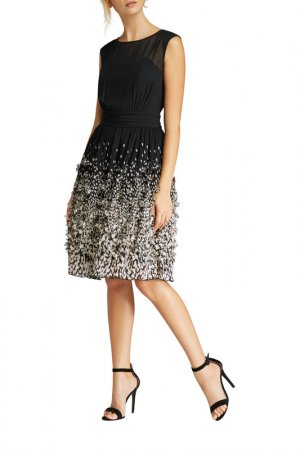Платье Apart. Цвет: черный, шампанское