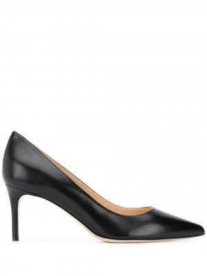 Туфли-лодочки с заостренным носком Deimille. Цвет: черный