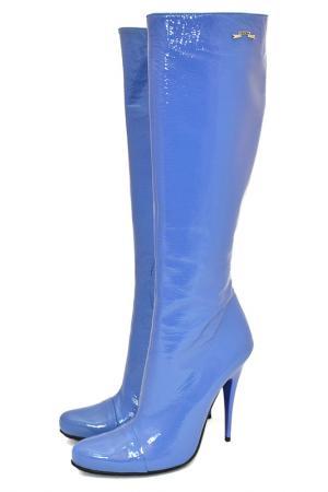 Сапоги Gerardina di Maggio. Цвет: голубой