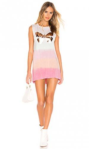 Платье-майка deanna Lauren Moshi. Цвет: розовый