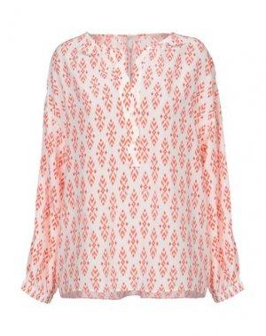 Блузка JOIE. Цвет: оранжевый