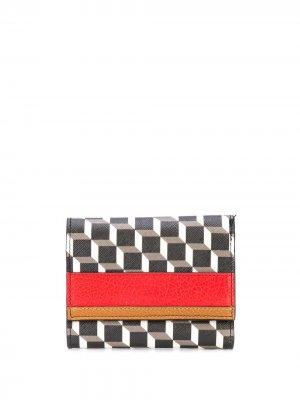 Кошелек Perspective Cube Pierre Hardy. Цвет: черный