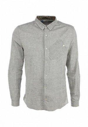 Рубашка Boxfresh BO543EMKW878. Цвет: серый