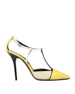 Туфли DIEGO DOLCINI. Цвет: желтый