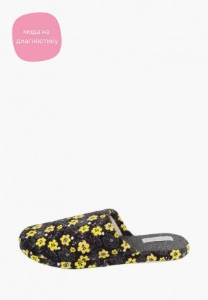 Тапочки De Fonseca. Цвет: черный