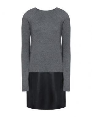 Короткое платье BAILEY 44. Цвет: свинцово-серый