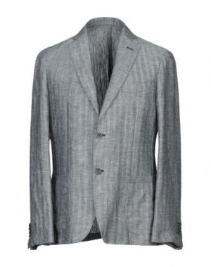Пиджак MANIFATTURA DI GENOVA. Цвет: темно-синий