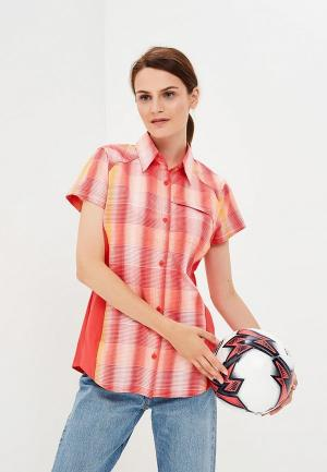 Рубашка Columbia Silver Ridge™ Plaid II Short Sleeve Shir. Цвет: коралловый