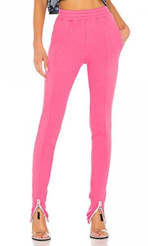 Свободные брюки caroline Frankie B. Цвет: розовый