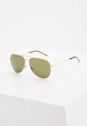 Очки солнцезащитные Saint Laurent CLASSIC 11028. Цвет: золотой