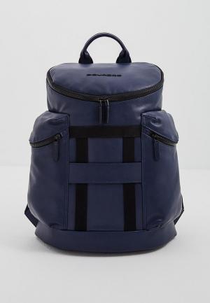 Рюкзак Piquadro SETEBOS. Цвет: синий