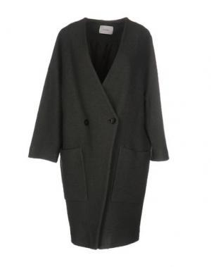 Пальто ...À_LA_FOIS.... Цвет: зеленый-милитари