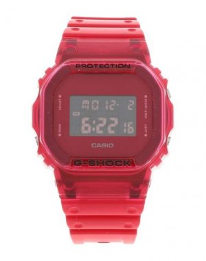 Наручные часы CASIO G-SHOCK. Цвет: красный
