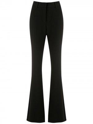 Расклешенные брюки Genéve Martha Medeiros. Цвет: черный