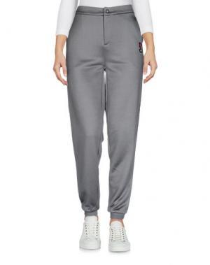 Повседневные брюки JO NO FUI. Цвет: свинцово-серый